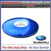 Subaru Stick On Clam Style Lemon Zest Air Freshener - Genuine Subaru SDM5011